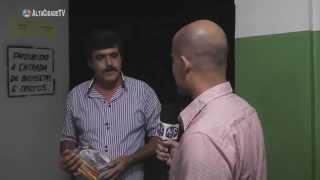 """Imbilino no filme """"O BICHO DE PÉ"""": Entrevista com o ator Hugo Caiapônia durante exibição em Iporá"""