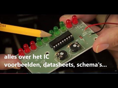 Componentenleer Integrated Circuit (IC) - theorie en praktijk