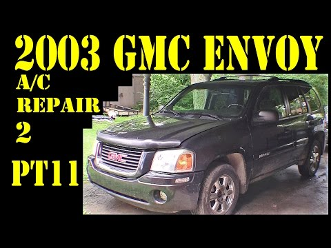 2003 GMC Envoy – Pt11 AC clutch diagnosis – repair diy trailblazer raineer 4.2l 4×4 suv