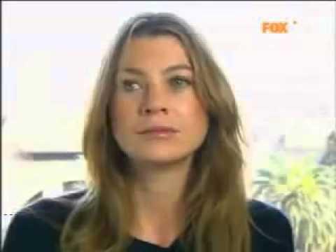 Ellen Pompeo parla Italiano.