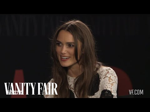 "Keira Knightley Just Learned What a ""Cumberbitch"" Is"