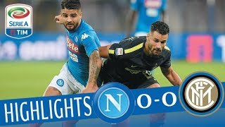 Napoli - Inter 0-0 - Highlights - Giornata 9 - Serie A TIM 2017/18