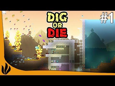 Dig or Die FR #1 S2 - Survie   Tower Defense   2D - Retour sur le jeu !