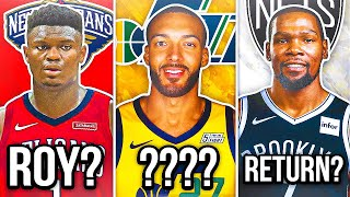 6 NBA TEAMS & PLAYERS AFFECTED THE MOST FROM THE SUSPENDED SEASON