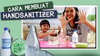 Hand sanitizer di pasaran habis/langkah. begini cara membuat sendiri rumah. ini bersumber dari artikel terperca...