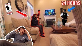 HIDING From MY PARENTS For 24 HOURS! (They Called The Cops)