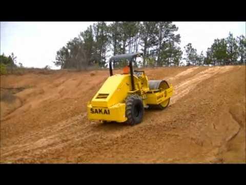 Sakai SV410D Soil Compactor