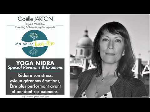 Yoga Nidra Spécial Révisions & Examens - 20min