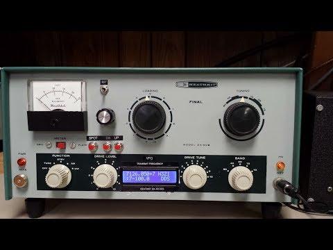 Heathkit DX-60 DDS VFO mod