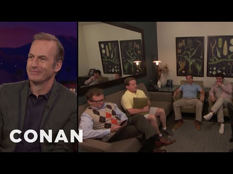 Bob Odenkirk Brought His Entire Entourage To CONAN   CONAN on TBS