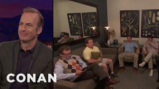 Bob Odenkirk Brought His Entire Entourage To CONAN  - CONAN on TBS