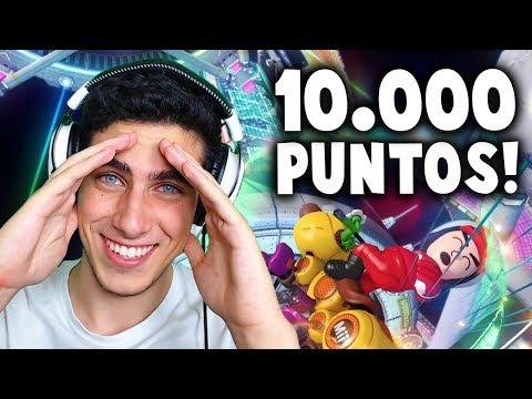 LLEGANDO A 10.000 PUNTOS EN MARIO KART 8 DELUXE EN DIRECTO #1 | Nintendo Switch