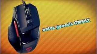 Распаковка + Обзор игровой мыши UNBOXING - MYSZ NATEC GENESIS GM56X