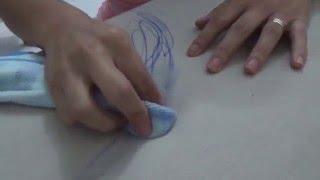 Como tirar tinta de caneta do Sofá (tecido)