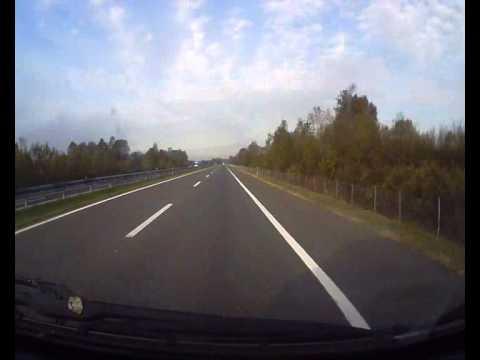 Timelapse Car Trip From Belgrade Serbia To Zagreb Croatia Youtube