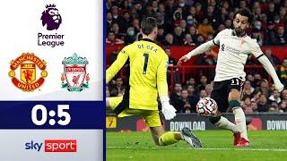 Reds-Gala gegen Red Devils   Manchester United - FC Liverpool 0:5   Highlights - EPL 2021/22