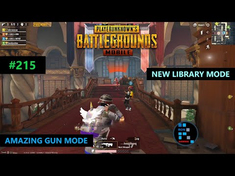 PUBG MOBILE | AMAZING NEW GUN MODE LIBRARY GAMEPLAY