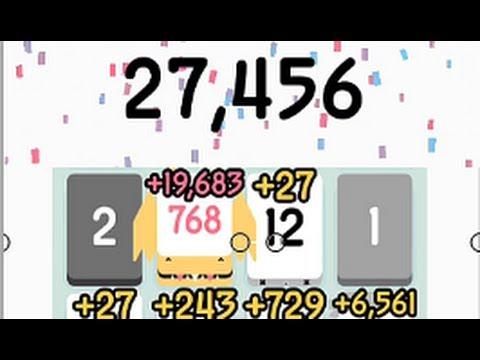 Threes - Highest Score New Record - YouTube