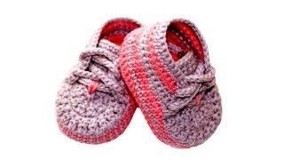 Пинетки ботиночки крючком Василиса