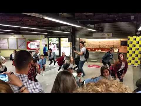 Flashmob in Valencia