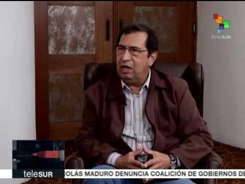 """Adán Chávez en el programa """"Cruce de Palabras"""" de Telesur"""