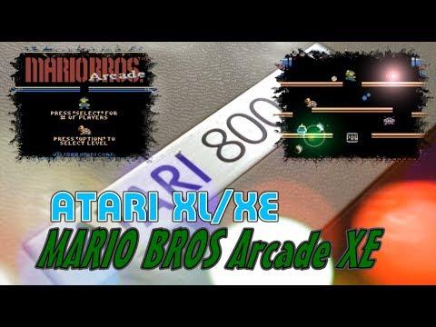 Atari XL/XE -=Mario Bros Arcade XE=-
