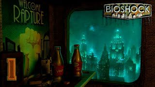 BioShock: Remastered [60FPS] прохождение на геймпаде часть 1 Город Восторг