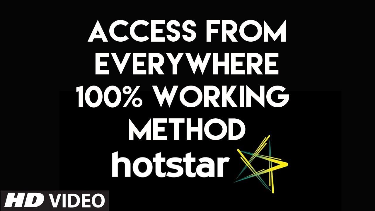 Hotstar by proxy