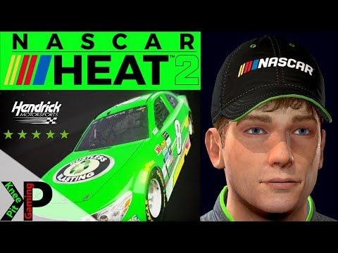 NASCAR Heat 2 Career Mode Gameplay #103 - Playoff Race #2 at New Hampshire