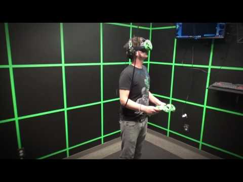 Holodeck VR Walk Through