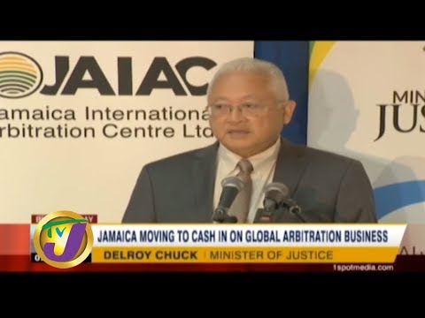 TVJ Business Day: Jamaica Moving to Cash in on Global Arbitration Business - December 18 2019