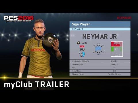 [Official] PES 2016 new myClub trailer