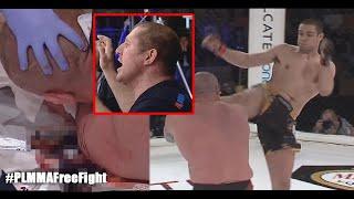 PLMMA Free Fight: Adam Okniński vs Mirosław Adamów | NOKAUT