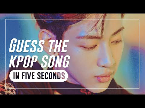 GUESS THE KPOP SONG IN 5 SECONDS #6