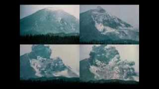 Mount St Helens, May 18, 1980