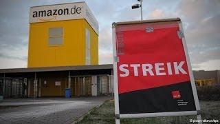 أخبار الآن - اضراب جديد لموظفي موقع امازون الامريكي في المانيا