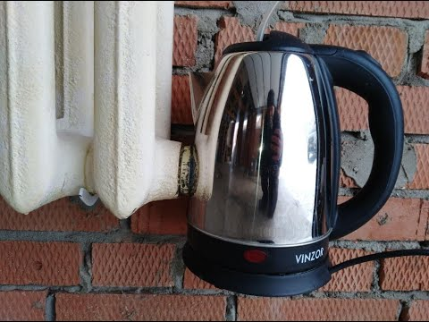 Cheap heating from a kettle