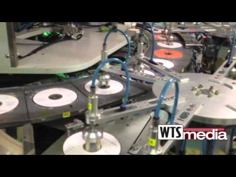 CD DVD Blu-Ray Silkscreen Printer 1080p WTSmedia - Www.wtsmedia.com