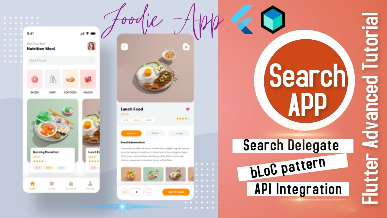 Flutter Advanced: Search App With SearchDelegate & bLoC