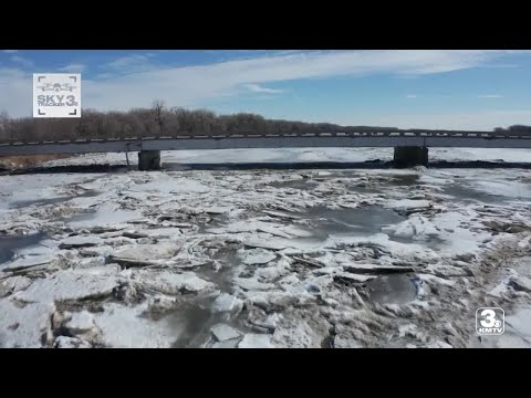Areas of Nebraska are under flood watch as ice on the Platte River begins to melt.