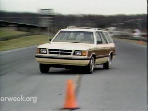 Motorweek Retro Review 85 Chrysler K Wagon Youtube