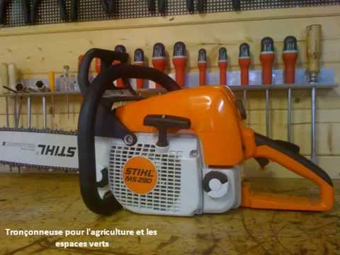 tronconneuse stihl youtube. Black Bedroom Furniture Sets. Home Design Ideas