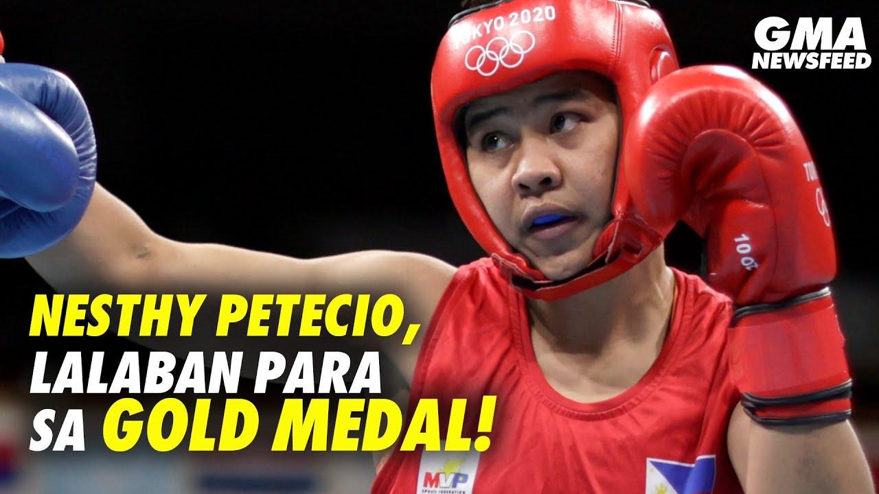 Tokyo Olympics 2020: Nesthy Petecio, lalaban para sa gold medal! | GMA News Feed