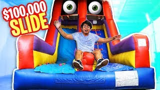 Exploring This $100,000 Bouncy Slide!