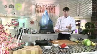 Салат с морепродуктами на сайте e-da.tv(Высококачественное кулинарное видео на портале http://e-da.tv. Видео рецепты от шеф-поваров разных стран мира...., 2011-07-14T13:47:38.000Z)