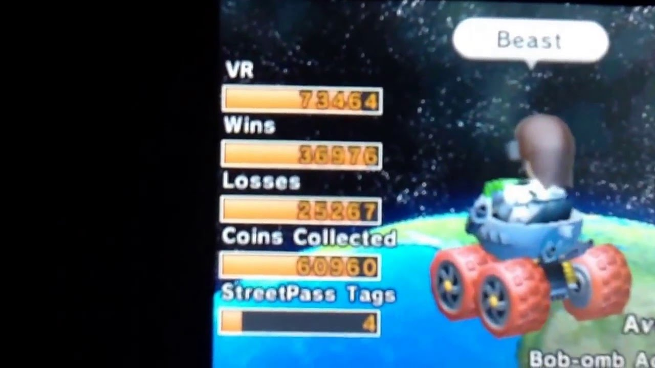 stat kart Mario Kart 7 Friend Records, Stats, and Friend Code   YouTube stat kart