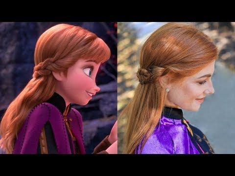 Anna's Frozen 2 Double Braid-Back Hairstyle Tutorial thumbnail