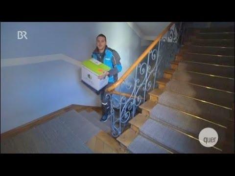 Paket-Zusteller sind  immer die Dummen
