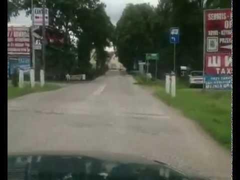 Trasa10,5 km Półmaraton Gusiew - Gołdap 2015 Strona Polska