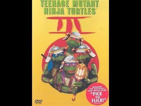 Opening To Teenage Mutant Ninja Turtles III 2002 DVD